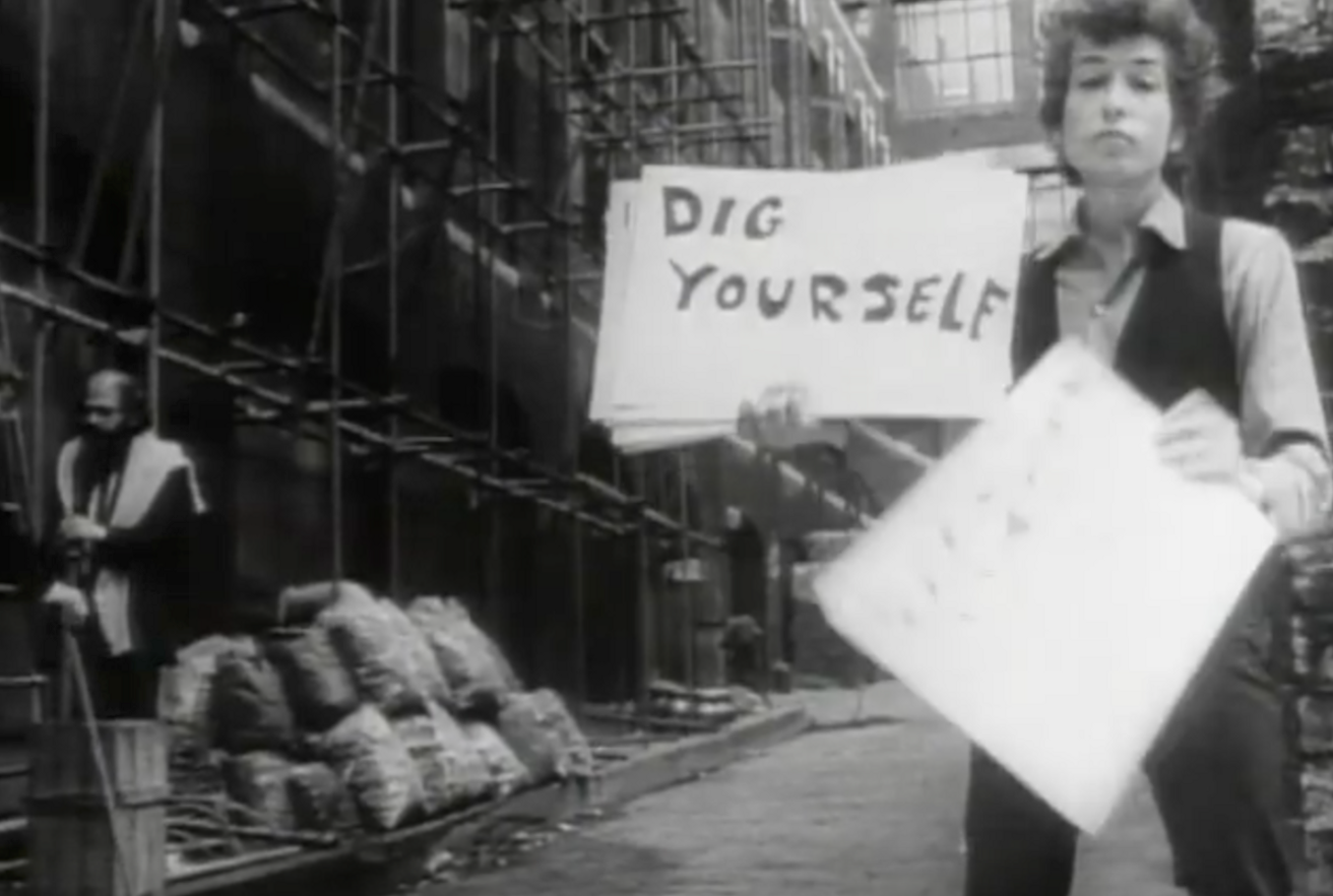 The Genius of Bob Dylan's Experiential 'Like a Rolling Stone' Video
